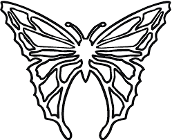 free butterfly coloring pages with heart pattern gianfreda net