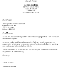 Cover Letter For I     Form Within I    Sample