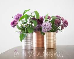 tin can wedding centerpieces rustic wedding chic