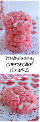 Halloween Cake Mix Cookies by Strawberry Cheesecake Cookies Easy Little Dairy On The Prairie