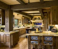 two styles of the spanish kitchen design