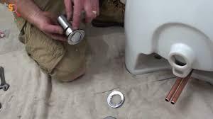 bathroom installing sink drain how to install a bathroom sink