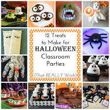 Easy Treats For Halloween Party by 12 Easy Treats To Make For Halloween Class Parties Simple