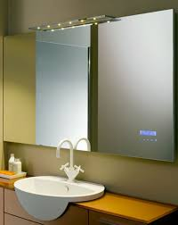 bathroom white framed bathroom mirror ideas with above mirror