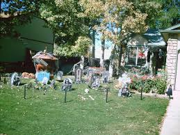 halloween yard decorations diy decoration try these outside halloween decoration ideas this year