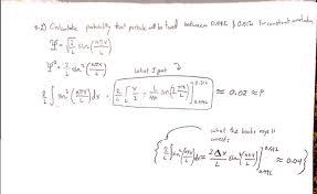quantum mechanics wavefunction problem wrong in solutions manual