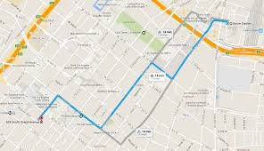 Grand Park Los Angeles Map by Ciclavia Iconic Wilshire Boulevard
