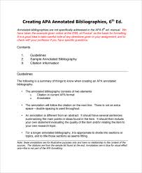 Best Photos of Annotated Bibliography APA  th Edition   Annotated     Perfect Resume Example Resume And Cover Letter   ipnodns ru