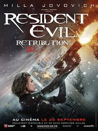 Resident Evil: Retribution FRENCH poster