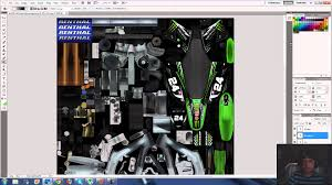 motocross jersey design your own mx simulator template work in photoshop youtube