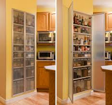 Kitchen Pantry Shelving Ideas by Cool And Practical Pantry Cabinet Design Ideas Simple Long Wooden