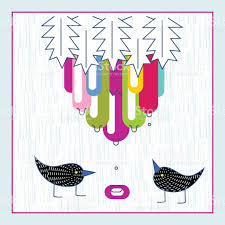 Invitation Card Designer Cute Birds Baby Shower Invitation Card Design Layout Template