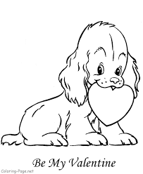 kitty coloring pages valentines cartoon coloring pages
