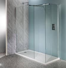 deluxe10 1500mm wet room shower screen 10mm glass walk in shower panel