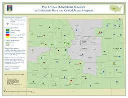 County Map Of Colorado Collaborative Models Of Primary Care Case Studies In Colorado