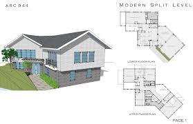 3 level modern house plans house interior