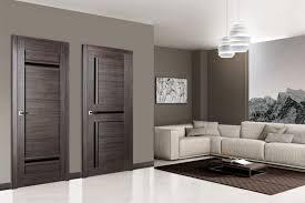 Large Interior Doors by Matrix 02 Gray Oak Modern Interior Door