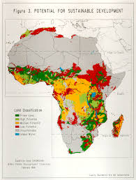 Sub Saharan Africa Physical Map by An Assessment Of The Soil Resources Of Africa In Relation To