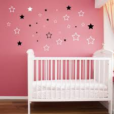 compare prices on stars wall stickers online shopping buy low baby nursery stars wall sticker star wall decal children room kids room wall art cut vinyl