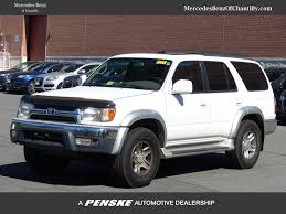toyota 4runner 2001 used toyota 4runner sr5 at mercedes benz of chantilly serving