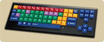 colourful computer keyboard