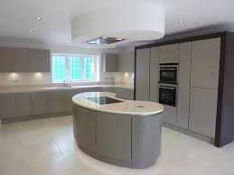 Kitchen Design Hertfordshire Painted Handless Finish In Exclusive Harpenden Development