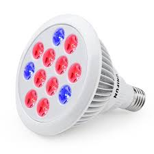 amazon com 24w led grow light bulb unifun e27 growing plant lamp