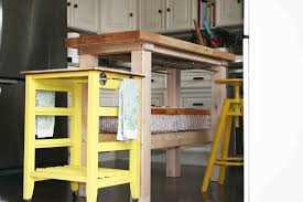 diy kitchen island cart in