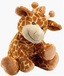 Toy teddy giraffe from directbears.co.uk