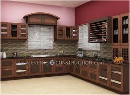 Kitchen Cabinet Inside Designs by 6 Kerala Kitchen Cupboards Designs Kerala Home Kitchen Design