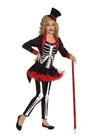 Kids Skeleton Halloween Costume by Kids Girls Miss Bone Jangles Skeleton Print Deluxe Costume