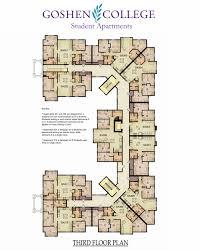Downing Street Floor Plan Octavio Romero Student Apartments Campus Life Goshen College