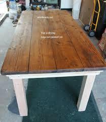 Farm Dining Room Table Holy Cannoli We Built A Farmhouse Dining Room Table Craft