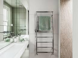 bathroom bathroom mirror towel rack wall mounted faucet heated