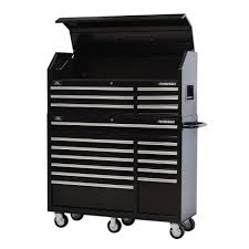 home depot black friday 2016 tools sale husky 52 in 18 drawer tool chest and rolling tool cabinet set