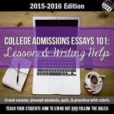 College Essays Application Write Materials