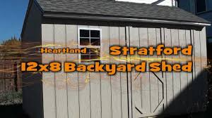 Free Saltbox Wood Shed Plans by New Heartland Stratford Saltbox Engineered Wood Storage Shed 29