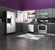 Kitchen Cabinet Colors 2014 by Kitchen Cabinets Kitchen Design With Red Ge French Door Counter
