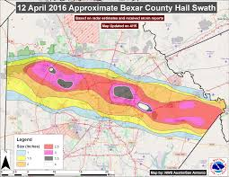 San Antonio Texas Map Corelogic Pegs Total Damage From Texas Spring Hail Storms At