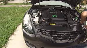 nissan altima coupe black removing nissan altima coupe grille without bumper youtube