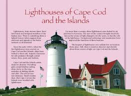 lighthouses of cape cod and the islands calendar meds maps cape cod