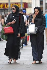 London sees super rich Arabs flock here for an orgy of spending     Daily Mail Big spenders  These shoppers load up on designer labels while shopping in the capital today