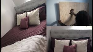 Diy Ikea Bed Diy How To Make Your Own Tufted Headboard Ikea Bed Hack