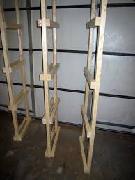 Simple Free Standing Shelf Plans by Best 25 Basement Storage Shelves Ideas On Pinterest Diy Storage