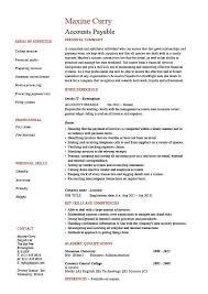 Accounts payable resume  sample  job description  salary  example     Dayjob Accounts payable resume