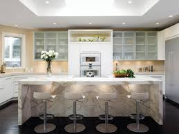 Marble Kitchen Designs Kitchens With Marble Countertops White Cabinets Stunning Home Design