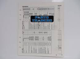 s manuals data sheet