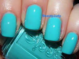 essie tiffany blue nail polish images