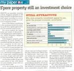 Singapore property still an investment choice (My Paper) | The ...