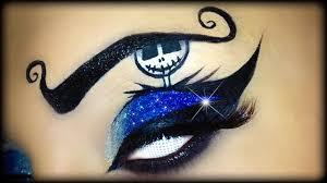 easy halloween makeup tutorial inspired by jack skellington ft